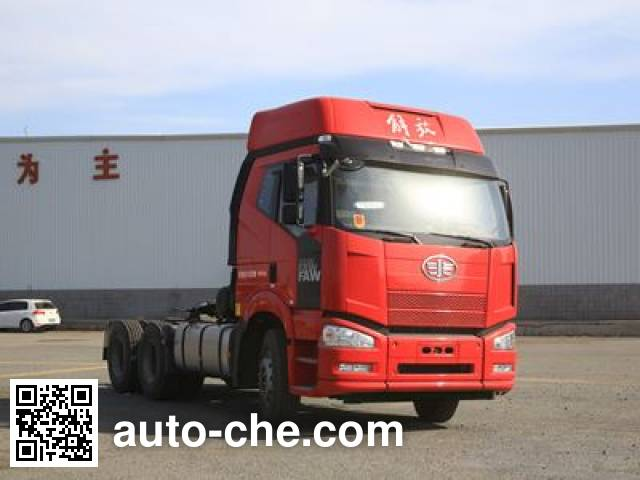 FAW Jiefang CA4250P66K24T1A1E5X container transport tractor unit