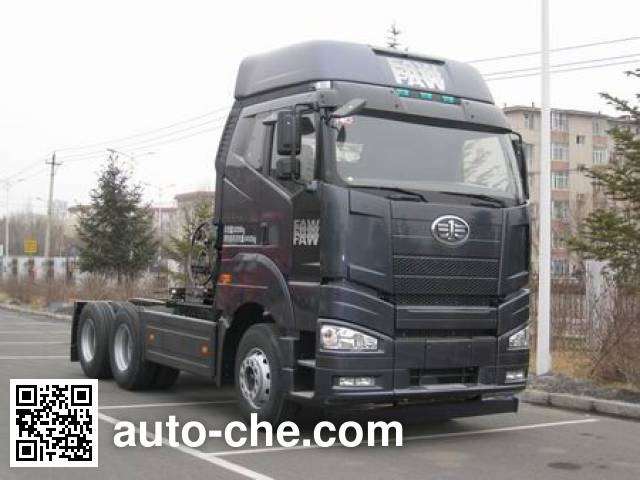 FAW Jiefang CA4250P66T1A2E22M4 LNG cabover tractor unit