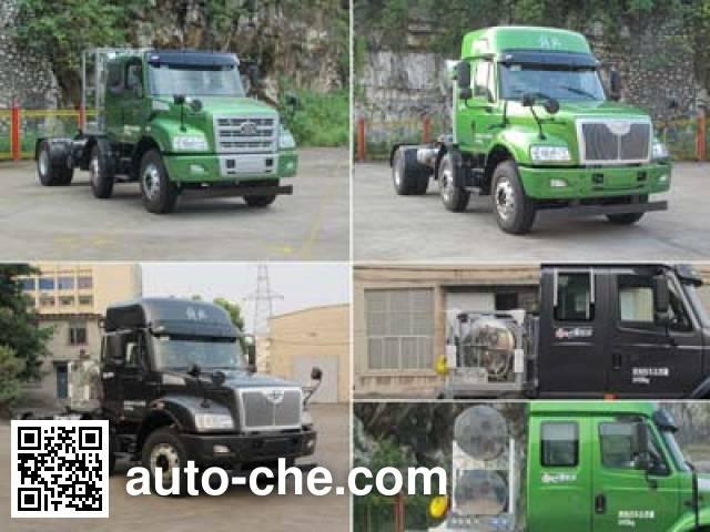 FAW Jiefang CA4252N2E4R5T3A90 natural gas tractor unit