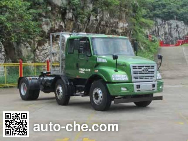 FAW Jiefang CA4252N2E5R5T3A90 natural gas tractor unit