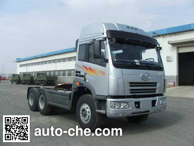 FAW Jiefang CA4252P21K22T1AXE container carrier vehicle