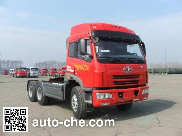 FAW Jiefang CA4252P21K2T1A3XE container carrier vehicle