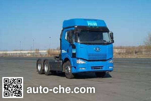 FAW Jiefang CA4260P66K2T1A diesel 6x4 cabover tractor unit