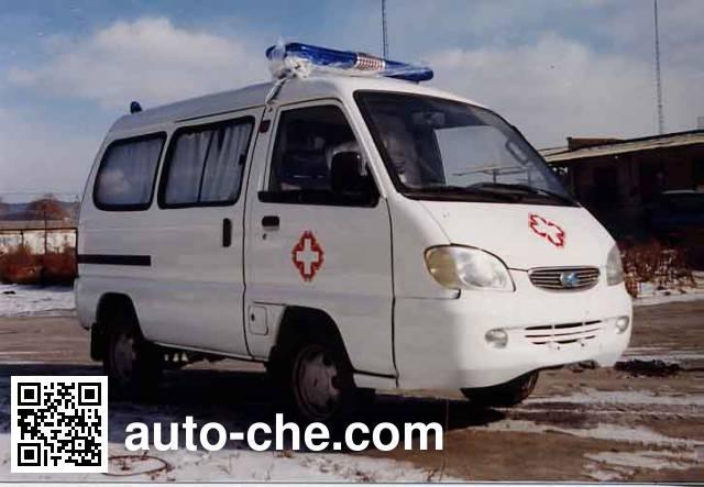 解放牌CA5011XJHA1救护车