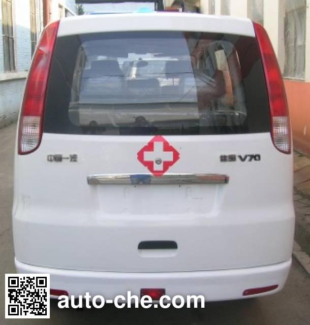 解放牌CA5020XJHB4救护车