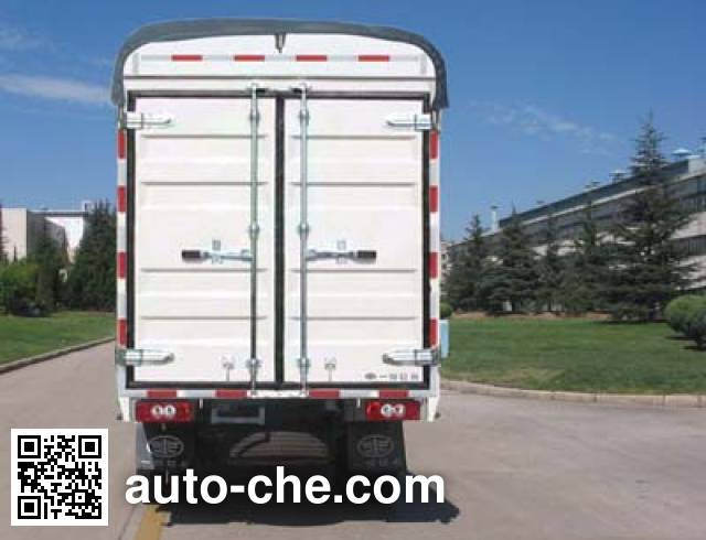 FAW Jiefang CA5030CPYK11L1R5E3 soft top box van truck