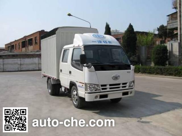FAW Jiefang CA5030CPYK11L1RE3 soft top box van truck