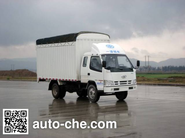 FAW Jiefang CA5030CPYK2L3R5E4-1 soft top box van truck