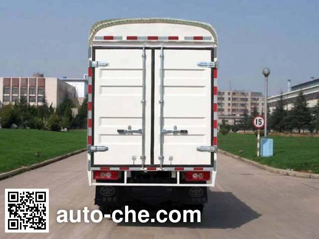 FAW Jiefang CA5030CPYK2L3RE4 soft top box van truck