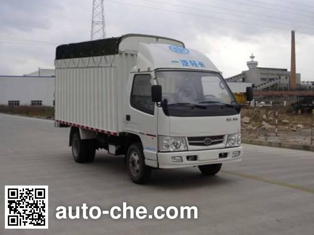 FAW Jiefang CA5030XXBK1L3E3J soft top box van truck