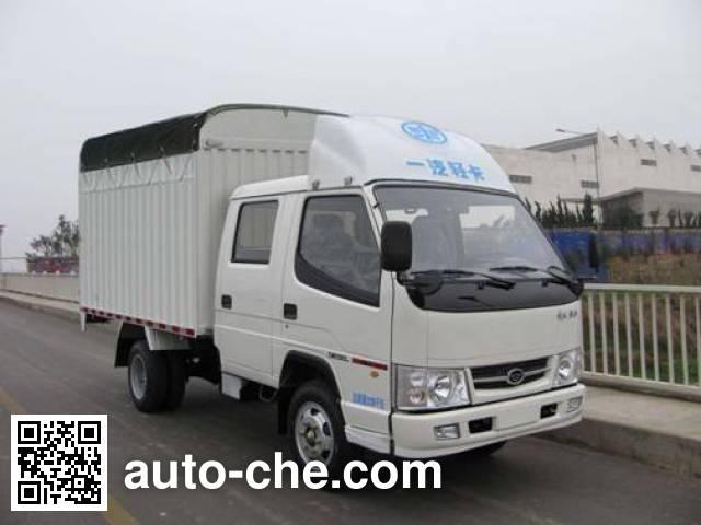FAW Jiefang CA5030XXBK1L3RE3J soft top box van truck