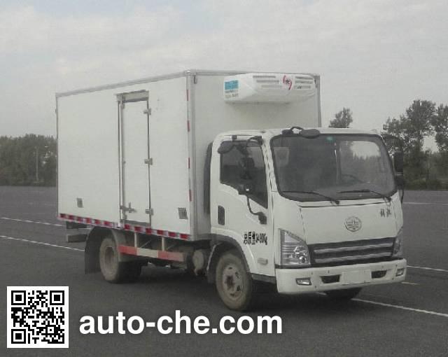 FAW Jiefang CA5031XLCP40K2L1E4A84 refrigerated truck