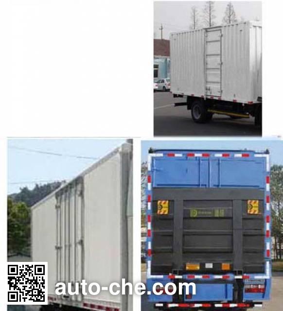FAW Jiefang CA5081XXYP40K2L2E4A84-3 box van truck