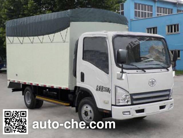 FAW Jiefang CA5033CPYP40K2L1EA84-2 soft top box van truck