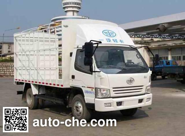 解放牌CA5040CCYK6L3E4-2仓栅式运输车