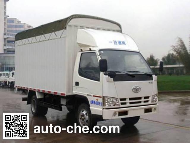 FAW Jiefang CA5040CPYK11L1E4J-1 soft top box van truck