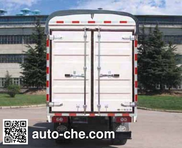 FAW Jiefang CA5040CPYK11L1R5E4 soft top box van truck