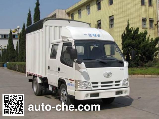FAW Jiefang CA5040CPYK11L1RE4 soft top box van truck