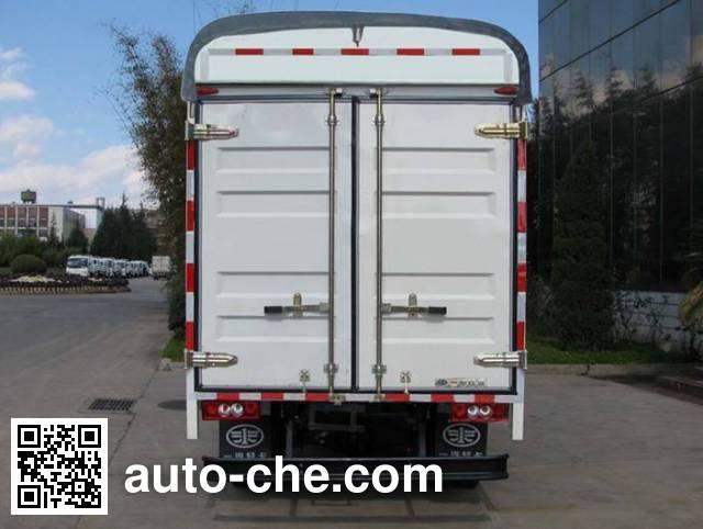 FAW Jiefang CA5040CPYK6L3R5E4-3 soft top box van truck