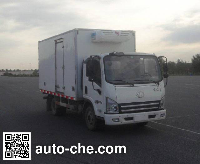 FAW Jiefang CA5042XLCP40K2L1E4A84 refrigerated truck