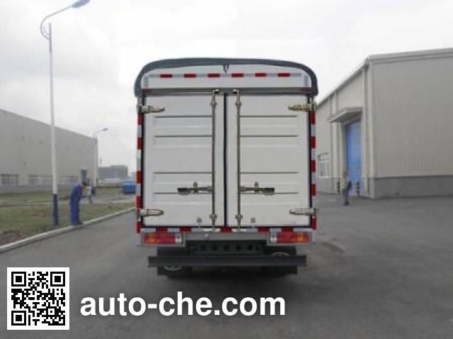 FAW Jiefang CA5043CPYPK45L2R5E1 soft top box van truck