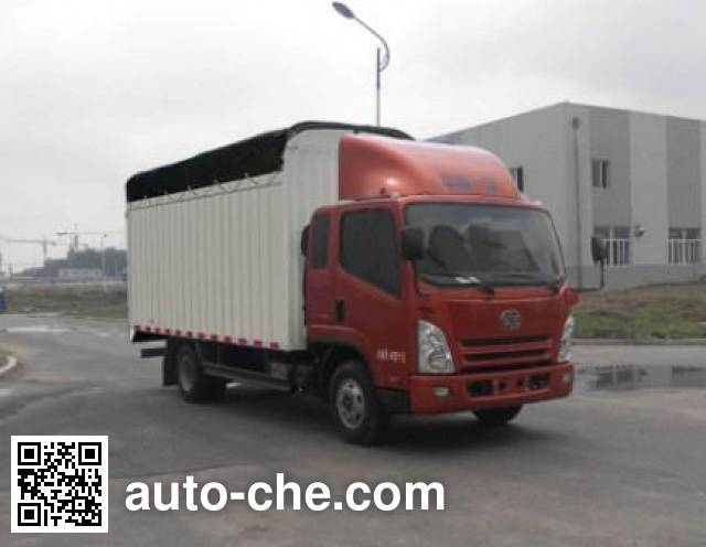 FAW Jiefang CA5043CPYPK45L2R5E4 soft top box van truck