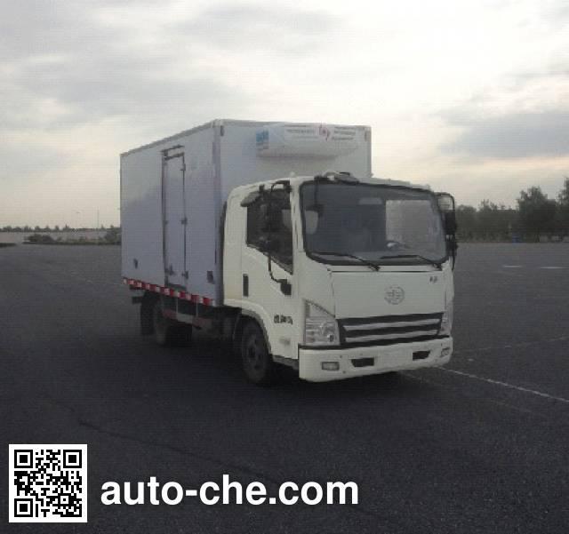 FAW Jiefang CA5044XLCP40K2L1E4A85 refrigerated truck