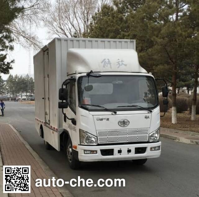 FAW Jiefang CA5043XXYP40LEVA84-3 electric cargo van