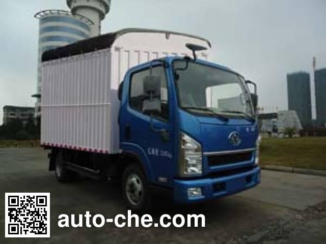 FAW Jiefang CA5044CPYPK26L2E4 soft top box van truck