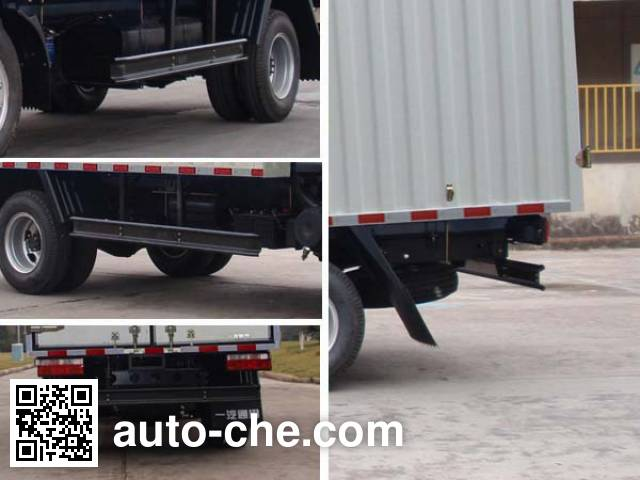 FAW Jiefang CA5044CPYPK26L2R5E4 soft top box van truck
