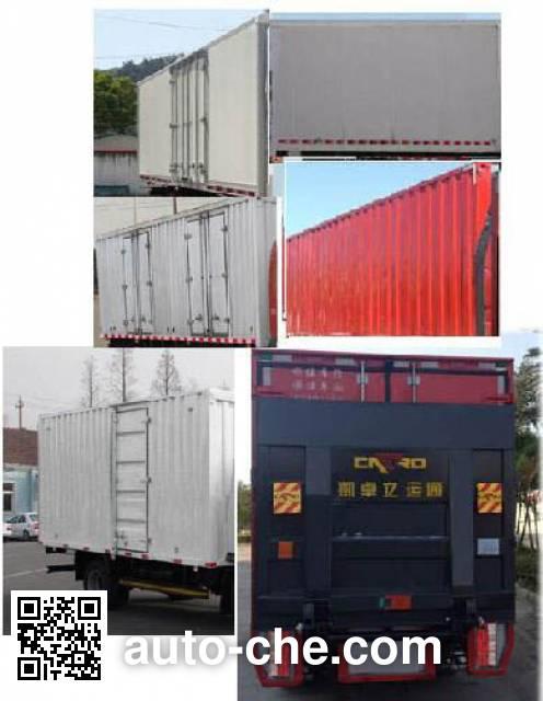 FAW Jiefang CA5081XXYP40K2L1E4A85-3 box van truck