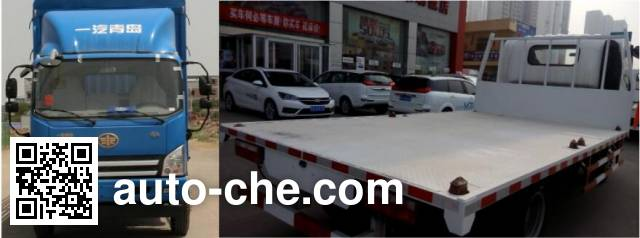 FAW Jiefang CA5045TPBP40K2L1E4A84 flatbed truck