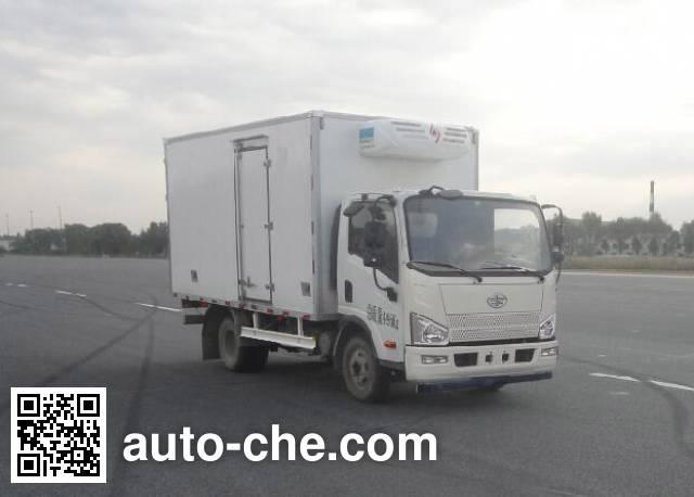 FAW Jiefang CA5046XLCP40K2L1E5A84 refrigerated truck