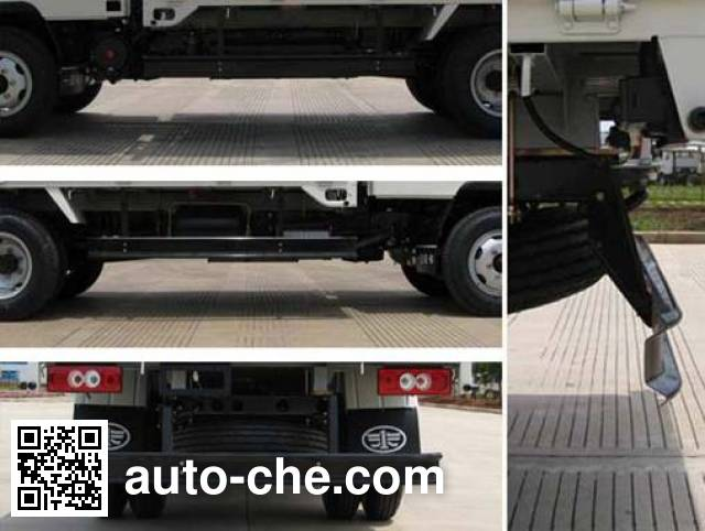 FAW Jiefang CA5070CPYK6L3R5E4 soft top box van truck