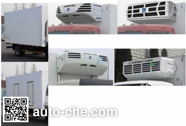 解放牌CA5041XLCP40K2L1E4A85冷藏车