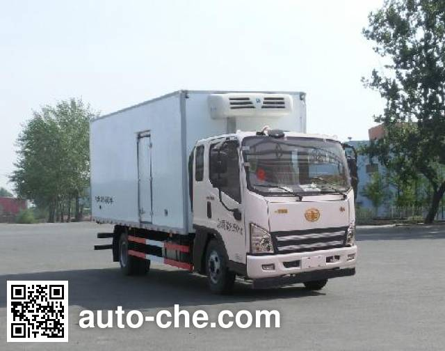 FAW Jiefang CA5081XLCP40K2L2E5A84 refrigerated truck