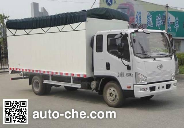 FAW Jiefang CA5083CPYP40K2L5EA85-2 soft top box van truck