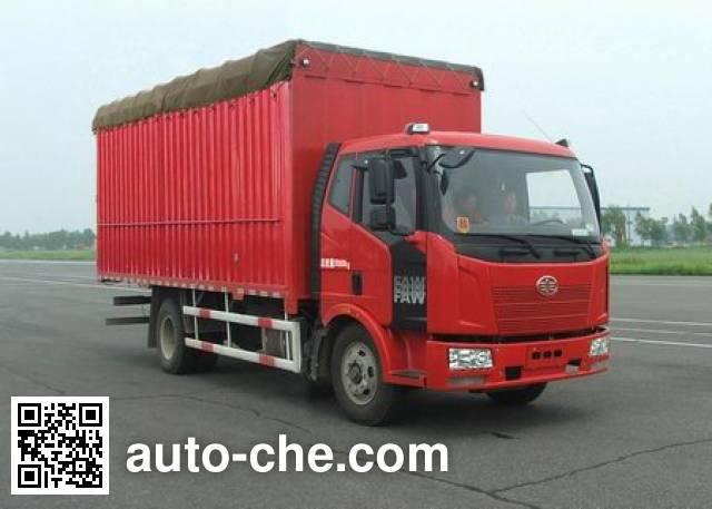 FAW Jiefang CA5160CPYP62K1L4A2E4 soft top box van truck