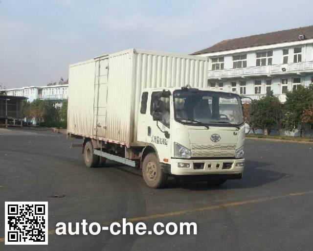 FAW Jiefang CA5086XXYP40K2L3E5A84-3 box van truck