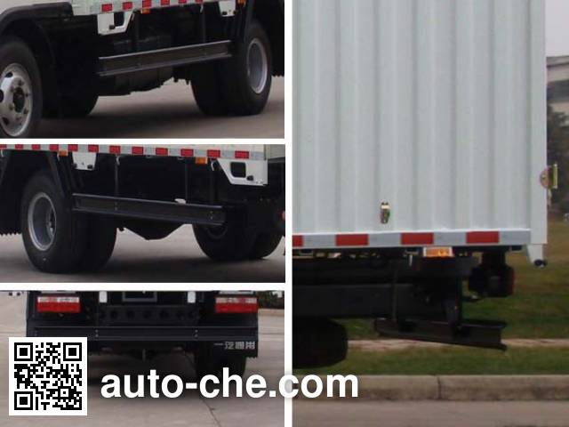 FAW Jiefang CA5094CPYPK26L4R5E4 soft top box van truck