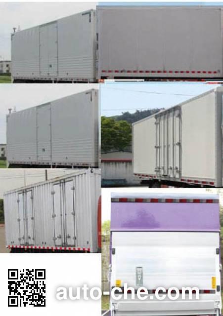 FAW Jiefang CA5061XXYP40K2L2E5A84 box van truck