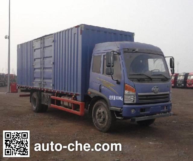 FAW Jiefang CA5100XXYPK2E4A80-3 box van truck