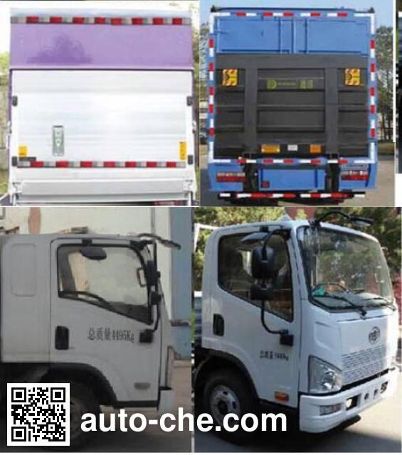 FAW Jiefang CA5132XXYP40K2L5E5A85-3 box van truck