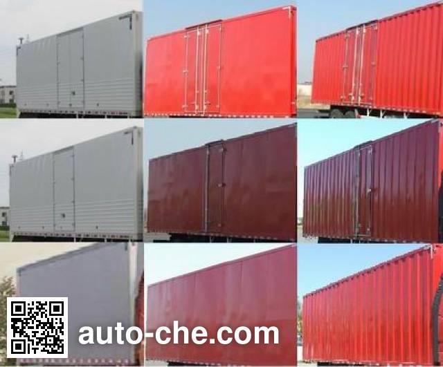 FAW Jiefang CA5250XXYP62K1L5T3E5 box van truck