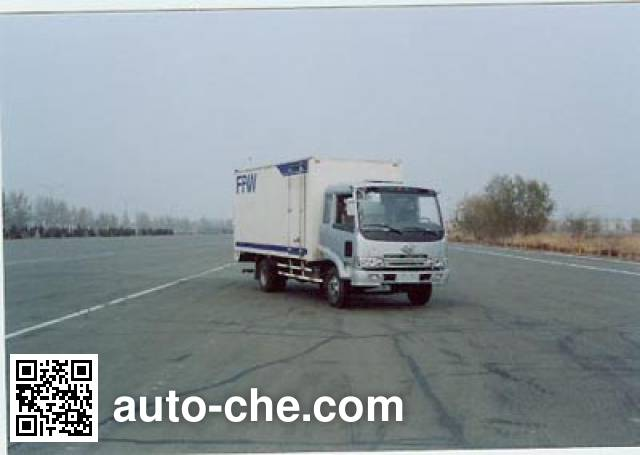 FAW Jiefang CA5108XXYPK2L2 cabover box van truck