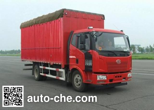 FAW Jiefang CA5120CPYP62K1L3A1E4 soft top box van truck
