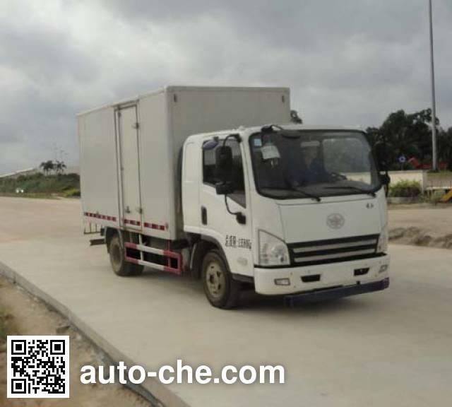 FAW Jiefang CA5125XXYP40K2L5E4A85-3 box van truck