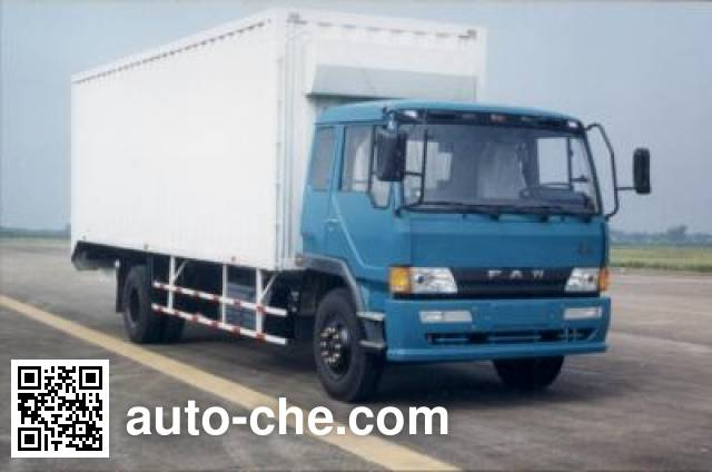 FAW Jiefang CA5136XXYL7A90 cabover box van truck