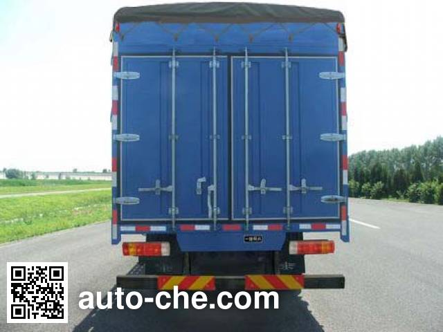 FAW Jiefang CA5160CPYP10K1L3E4 soft top box van truck