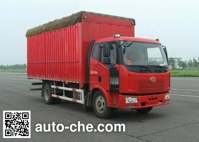 FAW Jiefang CA5160CPYP62K1L3A2E4 soft top box van truck